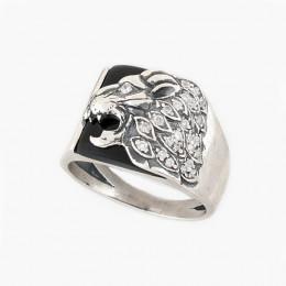 Кольцо мужское из серебра Властелин Юмила