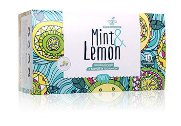 Зеленый чай с мятой и лимоном Every Mint&Lemon 60шт