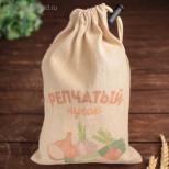 """Мешочек для овощей, """"Репчатый лучок"""", 27х19см"""