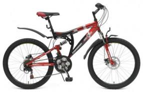 ВН24081 велосипед 24д.Топ Гир,2-подвес,16,5д. Storm 225 18с