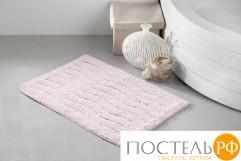 """5107 Коврик для ванной """"MODALIN"""" AREN 40x60 см 1/1 Розовый"""