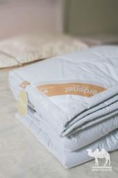 Одеяло стеганое из 100% верблюжьей шерсти Премиум