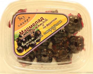 "Мармелад без сахара с соком ""Черная смородина"" 140г"