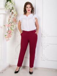 брюки стайл(бордо,нью)