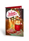 """С Новым Годом (красная кружка) """"Открытка с шоколадом"""""""