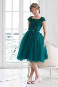 детское нарядное платье модель 303