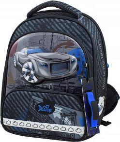 Ранец DeLune 9-119 + мешок + пенал + часы