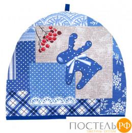 """Грелка на чайник 27х30 см """"Рождество"""", УТ-00016892"""