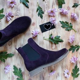 Замшевые ботинки Челси. New collection 17-18!