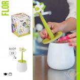 контейнер д/сыпучих продуктов 0,9л Flor
