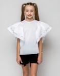 """Школьная блузка для девочки """"SH-75"""" (рост 134 см)"""