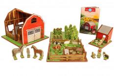 Farm Playset with Barn, Animals