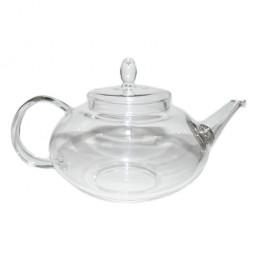 """Заварочный чайник из жаропрочного стекла """"Амарант"""" с пружинк"""