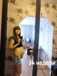 Фото 34 недели беременности