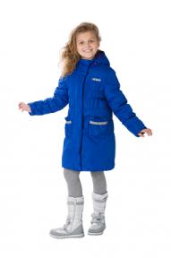 S28163 BLUE  Пальто утепленное