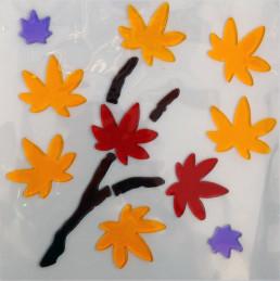Аппликация декоративная Magic Gel Осень