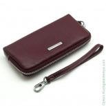 Женский кожаный кошелек на молнии Sergio Valentini СВ 8090-0