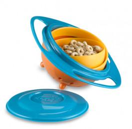 Детская тарелка неваляшка Gyro Baby Bowl (Гиро Боул)
