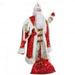 Дед Мороз Королевский красный (д/взр)