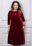 Платье Обворожительная (красная вишня)