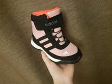 Ботинки адидасы для девочки ЗИМА