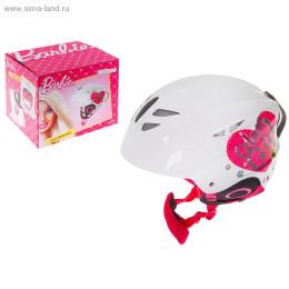 Шлем зимний Barbie, размер М (54-58 см)