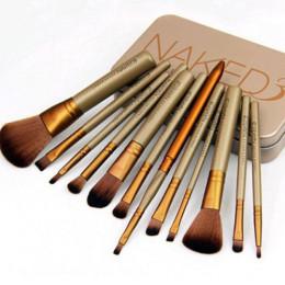 Набор кистей NAKED3 для макияжа 12шт.в футляре