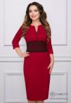 Платье Выразительная (рубин)
