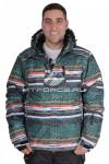 Куртка горнолыжная мужская зеленого цвета 14102Z