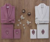 Махровый Семейный Набор с Халатами 6 предметов - Z&R HOME