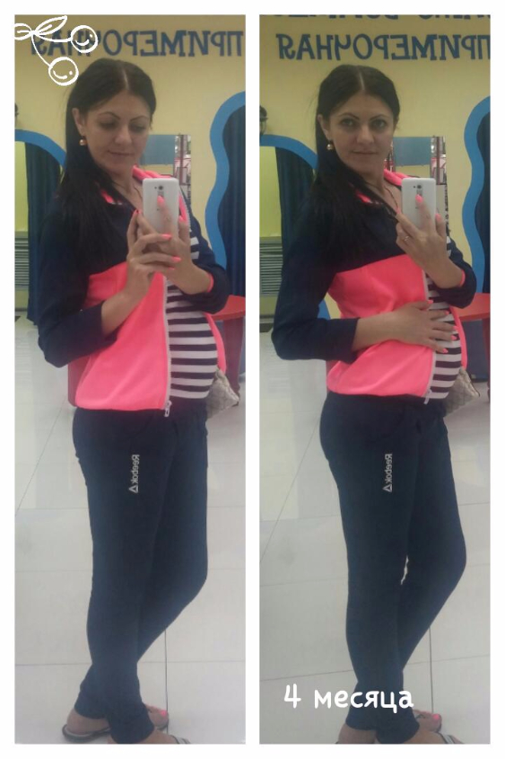Фото животиков на 16-17 неделе беременности
