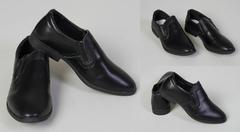 """Обувь детская 56007765-01 Туфли Однотонные"""" Черные"""