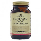 Solgar, Альфа-липоевая кислота Nutri-Nano CoQ-10