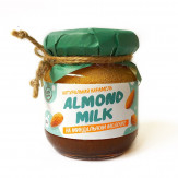 Мягкая карамель Миндальное молочко 110г Almond milk caramel