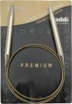 спицы круговые, супергладкие, никель, №9, 150 см