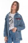 Женская джинсовая куртка 21563214