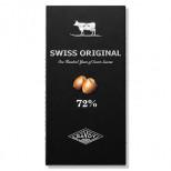 """Шоколад """"SWISS ORIGINAL"""" Горький с дробленым фундуком 100гр."""