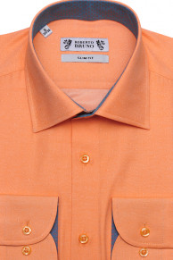 Roberto Bruno рубашка с длинным рукавом 114302SF