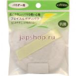 Спонж-пуф для нанесения пудры и очищения кожи лица