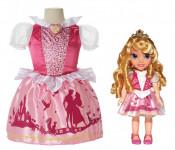 Jakks Pacific Нарядное платье для девочки + кукла Аврора