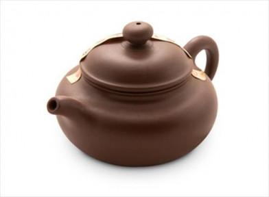 """Чайник из исинской глины """"Ручей"""" 200 мл."""