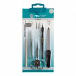 Маникюрный набор из 5-ти инструментов с ножницами ZINGER