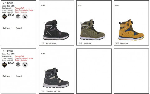 Зимние ботинки Viking Espo Boa GTX
