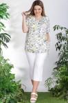 Блузки Модель 11007 цветы LeNata      Производитель: LeNata