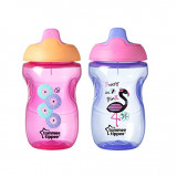 Tommee Tippee Sippee Cup, Pink and Purple, 10 Ounce 2 шт