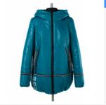 04-1480 Куртка демисезонная (синтепон 100) Плащевка Морская