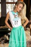 Юбка + блуза
