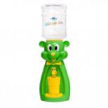 Детский кулер для воды мышка зеленая Акваняня