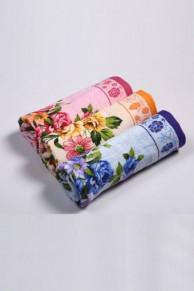 Полотенце махра, набор из 3-х штук размер 100х50