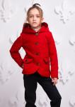 Куртка Женева красная 000311